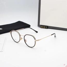 a647d3400 2018 Round Glasses Men Women Eyeglasses Frames for Prescription Spectacles  decoration Eyewear Clear Plain Lens Vintage Retro