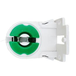 Led-röhren-steckdosen online-Pack von 20 Nicht-Shunted T8 Lampenfassung Socket Tombstone für LED Leuchtstoffröhren Ersatz Turn-Typ Lamphol