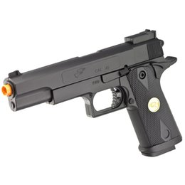 Wholesale DOUBLE EAGLE M A1 PISTOLET A MAIN POUR RESSORTS A AIR COMPLET AIRSOFT BB mm