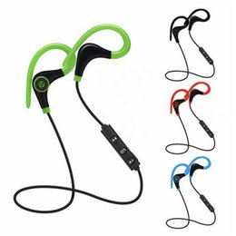 Wholesale White Tour Headphones - BT-1 Tour Earphone Bluetooth Sport Earhook Earbuds Stereo Over-Ear Wireless sports Neckband Headset Headphone with Mic WITH new PACKAGE