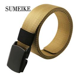 Wholesale Tactical Belt Buckles Wholesale - 140cm Quick-drying 2016 Male Tactical Belt New Brand Designer Belt Men High Quality Automatic Buckle For Jeans