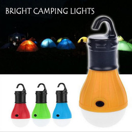 2019 luces de emergencia vintage 2 Unids Luces de Campamento Portátil Recargable Colgando Al Aire Libre LED Linterna Que Acampa Bombilla LED Lámpara de Emergencia Carpa Pesca Acampar Luces