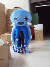 traje de mascote de polvo Desconto 2017 hot sale Octopus Mascot Costume Adulto Tamanho Do Animal Do Mar Octopus Carnaval Partido Xmas Cosply Mascotte Terno Kit