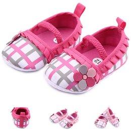 Shop hot pink flower girl shoes uk hot pink flower girl shoes free fashion baby shoes first walkers girls prewalkers toddlers hot floral flower newborn plaid grid mightylinksfo