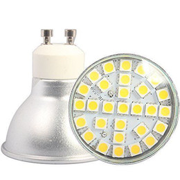 led smd mr16 7w Promotion GU10 MR16 E27 29 SMD5050 LED 7W ampoule 220V ampoule 600-650lm aluminium blanc chaud blanc