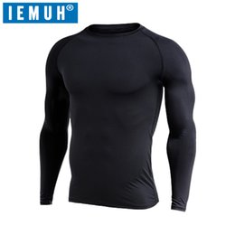Wholesale Yellow Thermal Shirt - IEMUH Brand Winter Men Long Johns Fleece Thick thermal Underwear keep warm for Russia Canada and Europe Men