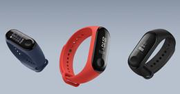 Argentina Original Xiaomi Mi Band 3 Pulsera inteligente Reloj pulsera Miband Monitor de sueño OLED Monitor de ritmo cardíaco Suministro