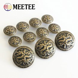 Deutschland Meetee B3-17 Antik Bronze Metall Blazer Button Chinesischen Drachen Für Blazer Anzüge Sport Mantel Uniform Jacke Schaft Tasten Versorgung