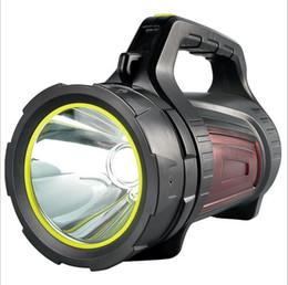 Taschenlampenbereich online-Hochleistungs-starke Licht Taschenlampe wiederaufladbare super helle Long-Range-Hause im Freien wasserdichte Xenon LED tragbaren Scheinwerfer