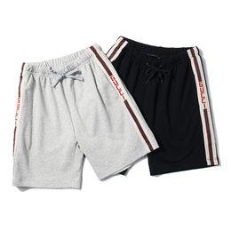 Wholesale men underwear pants - Shorts Men Brand Short Pants 2018 Summer Designer High Street Beach Shorts Luxury Mens Underwear Fashion Sports Shorts