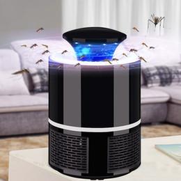 Lámparas de insectos online-Fotocatalizador USB Lámpara para matar mosquitos Repelente de mosquitos Insecto Trampa para insectos Luz UV Lámpara para matar moscas Lámpara para repeler moscas