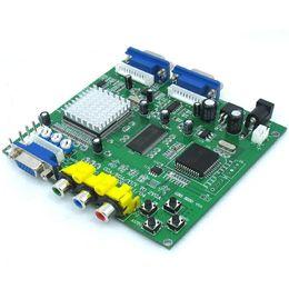 Canada GBS8220 Arcade jeu CGA / YUV / EGA / RGB signal à la carte de convertisseur vidéo HD VGA (double sortie) cheap arcade dual Offre