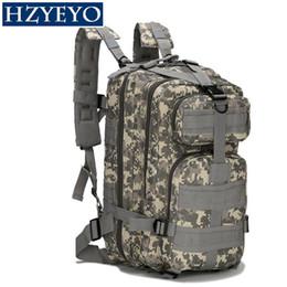 Deutschland HZYEYO Taktischer Rucksack Militärrucksack Oxford Sporttasche 30L für Camping Klettern Taschen Reisen Wandern Angeln Taschen, B-02 cheap b backpack Versorgung