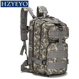 Argentina HZYEYO Mochila táctica Militar Mochila Oxford Bolsa deportiva 30L para acampar bolsas de escalada Bolsas de pesca de senderismo, B-02 cheap b backpack Suministro