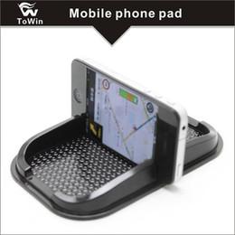 Anti-Slip Сотовый телефон Pad Универсальный для приборной панели автомобиля Нескользящий силиконовый резиновый гелевый коврик для мобильного телефона, подставка для мобильного телефона. от