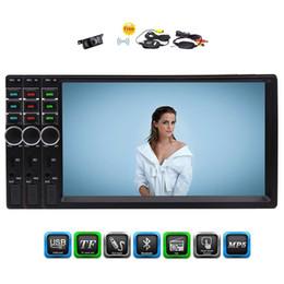 Caméra de recul Eincar Stéréo Universel Double 2 Din Voiture MP5 Lecteur 7 '' Numérique Capacitif Multi-Touch Écran Lecteur au Tableau de Bord SWC / Bluetooth ? partir de fabricateur