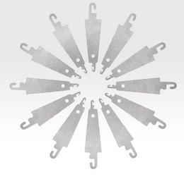 10pcs / set acier crochet aiguille filière aide pour coudre à la main ruban broderie croix x couture outil bricolage artisanat couture aiguille se ? partir de fabricateur