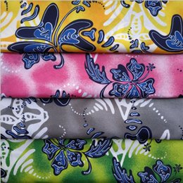 Nouvelle série de tissus de fleurs jeanette imprimé tissu, matériel cousu à la main, patchwork bricolage, accessoires de tissu vêtements de plage pantalons ? partir de fabricateur