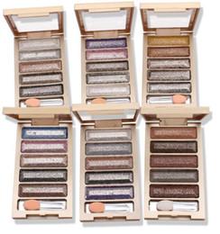 palette magique des yeux Promotion Ombre à paupières 5 Couleurs Couleur Magique Ombre à Paupières Palette Glitter Diamant Fouldable Maquillage Miroir Surligneur Maquillage Palatte