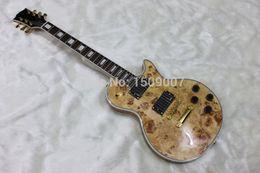 Wholesale Chinese Shops - Custom Shop Chinese Guitar, Ebony fingerboard, EMG pickups, nature wood top, Golden Hardware, custom electric guitar