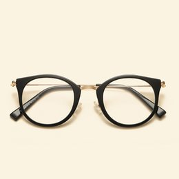 9803141963aa 2018 Cute Vintage Glasses Women Men Glasses Frame Round Eyeglasses Frame  Optical Glass Oculos Femininos Gafas Eyewear TR90