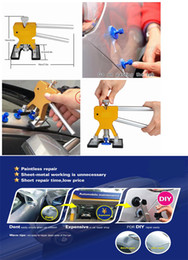Wholesale Tool Auto Body - Auto Body Paintless Dent Removal PDR Dent Lifter Puller Repair with 10 pcs Suction Tab Tools Kits