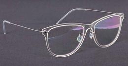 Wholesale Spectacles Frames For Men Fashion - New Eyeglasses Frame Lindberg 6502 Spectacle Frame Eyewear for Men Women Myopia Brand Designer Vintage Sun Glasses With Original Case