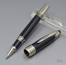 Dunkler weinrot online-heißer Verkauf mb JFK dunkelblau - Rotwein - schwarzer Rollerballfederhalter / Füllfederhalter / Kugelschreiber Bürobriefpapierart und weisekugelschreibergeschenk
