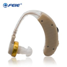 Wholesale hearing aid s cheap - Rehabilitation Therapy Supplies Properties analog BTE mini hearing aid with clear sound cheap price S-8A free shipping