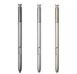 penna capacitiva dello stilo del metallo Sconti Penna stilo per telefono cellulare di alta qualità per samsung galaxy Note5 N920V N920F Penna stilo touch screen con logo