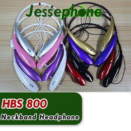 Deutschland HBS-800 Stereo Sport Bluetooth Headset Drahtlose Kopfhörer Nackenbügel Stil Kopfhörer für iPhone HTC Ultra Brand New HBS800 Versorgung