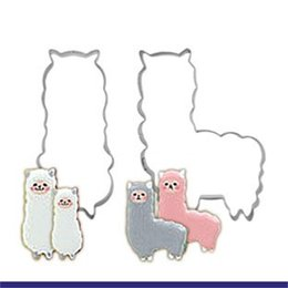 Wholesale animal sheep - Sheep Mould Stainless Steel Cartoon Animal Lovely Fashion Fruits Cutting Cooky Baking Molds For Cookies 1 4dz C C