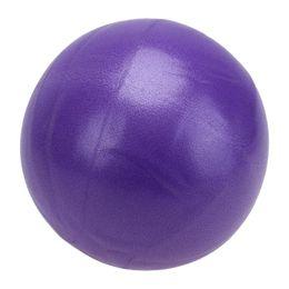 equilíbrio de fitness Desconto 25 cm / 9.84 Bola de Yoga Pilates Bolas de Exercício de Equilíbrio de Fitness para a Criança Adulto Aparelho de Fitness Exercício Balance Ball Home Trainer