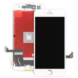 Wholesale pc display panel - 5 PCS For iphone 7 & 7 Plus LCD Display Grade AAA Display with Screen Touch Frame Full Assembly Replacement For iPhone DHL Free