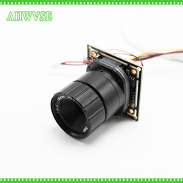 Wholesale 16mm cameras - SONY IMX323 Sensor Low Illumination AHDH Camera 16MM LENS Mini AHD Camera Module IRCUT IR Filter AHDH 1080P with Bnc Port