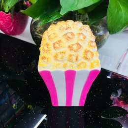 Wholesale Kids Food Boxes Wholesale - Creative Popcorn Squishy Slow Rising Squeeze Toy Squishies Simulation Food Decompression Toys Kid Gift Hot Sale 14 5ys C
