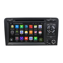 Wholesale french cassettes - Best performance Android 8.0 Two Din 7 Inch Car DVD Player For Audi TT 2006-2012 Octa Cores 4G RAM 32G ROM 3G 4G WIFI Radio GPS Navigation