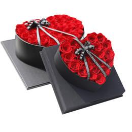 Estrela dos namorados on-line-Flor Eterna Rose Enterprise Personalizado Estrela Com High-end Caixa De Presente Presentes Qixi Dia Dos Namorados Distribuição Por Atacado