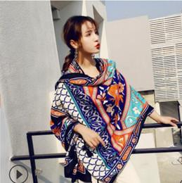 Argentina Pareos de diseño para vacaciones, viajes étnicos, pañuelos de seda, mantón grande para las mujeres, moda caliente, envío gratis Suministro