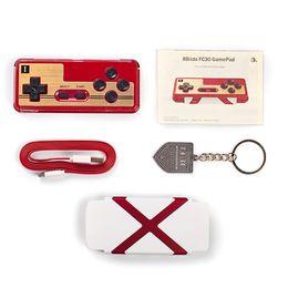 Wholesale Original Smartphones - Original 8Bitdo FC30 Wireless Bluetooth Game Controller for NES SFC SNES iOS Android Gamepad Smartphones & Tablet PCS 0801110