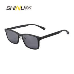 Wholesale Magnetic Goggles - New Arrival Women Men Fashion Optical Eyeglasses Myopia Prescription Sunglasses Magnetic Polarized Clip On Sunglasses Gafas 9916