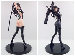 Wholesale Sword For Kids - GANTZ O Shimohira Reika Sword Ver Sexy SM Girl 25cm PVC figurine toys Collection Anime Action Figure for new year gift