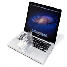 "Wholesale protector for macbook pro - Hot Ultra Clear TPU Keyboard Cover Skin Protector for Macbook Air 11"" Pro 13 15"""
