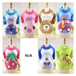 Wholesale warm clothes for small dogs - New Fashion Winter Warm Small Dog Pet Clothes Hoodie Jumpsuit For Small Large Dog Cat Cute Lovely Coat Jackets