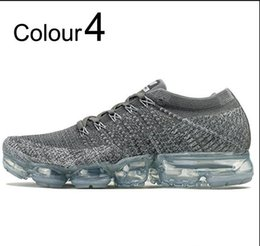 Wholesale ivory shoes for women - new airss 2018 VaporMaxssy Runningssy Shoes Weaving racer Ourdoor Athletic Sporting Walking Sneakers for Women Men Fashion pink Casual maxes