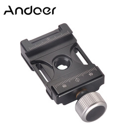 Al por mayor 38mm Aluminio Tornillo Perilla Mini Abrazadera de Liberación Rápida Compatible con Arca Suiza para 38mm QR Plate desde fabricantes