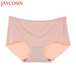 Wholesale Hot Sexy Lingerie Underpants - 2017 New KLV Women's 3PCS Sexy Seamless Lingerie Underwear Underpants Soft Briefs Panties Hot Dropshipping L630