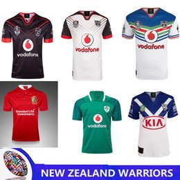 Wholesale Africa Jersey - NEW ZEALAND WARRIORS rugby JERSEY Australia rugby ENGLAND RUGBY NORTH QUEENSLAND COWBOYS Brisbane Broncos South Africa HOME JERSEY