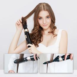 Pritech Electric Hair Dryer mulitifunzionale con bigodino pettine styling brush 600 W capelli lisci Bigodino 4 in 1 anione DHL da