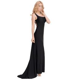 Freies Verschiffen !!! heißer Verkauf schwarzer Rock sexy lange Rock Frau  Pyjama Party Kleid mit super große Größe Spitze aushöhlen zurück Kleid 094a63d404